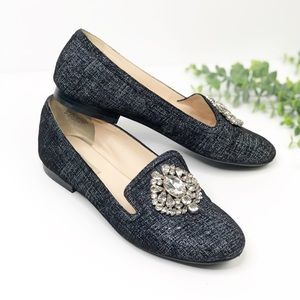 Nine West Long Shot Embellished Loafer 7.5
